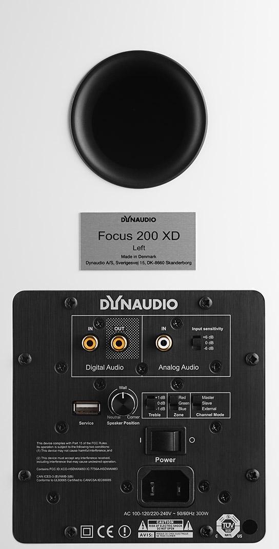 Dynaudio Focus XD200 Rückseite