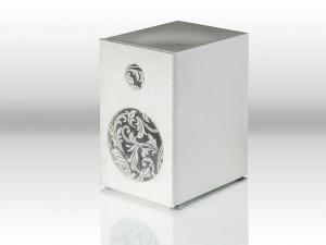 Speaker Box 5 weiß mit Bespannrahmen