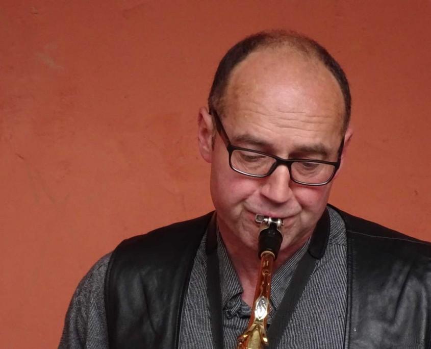 Johannes Neuner in Aktion, aber ohne Tanz